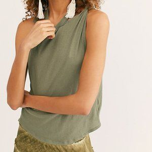 Free People We The Free Twist Tank / Moss